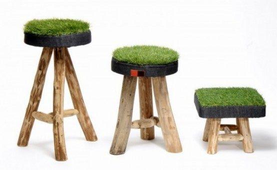 мебель с газоном
