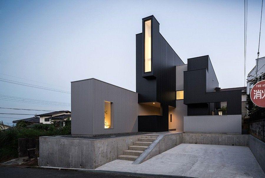 scape house дом необычной формы