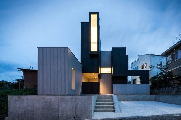 дом с удивительной геометрией