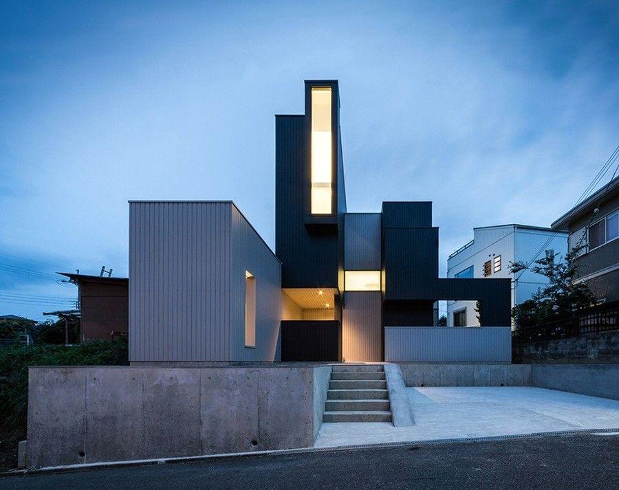 дом необычной формы