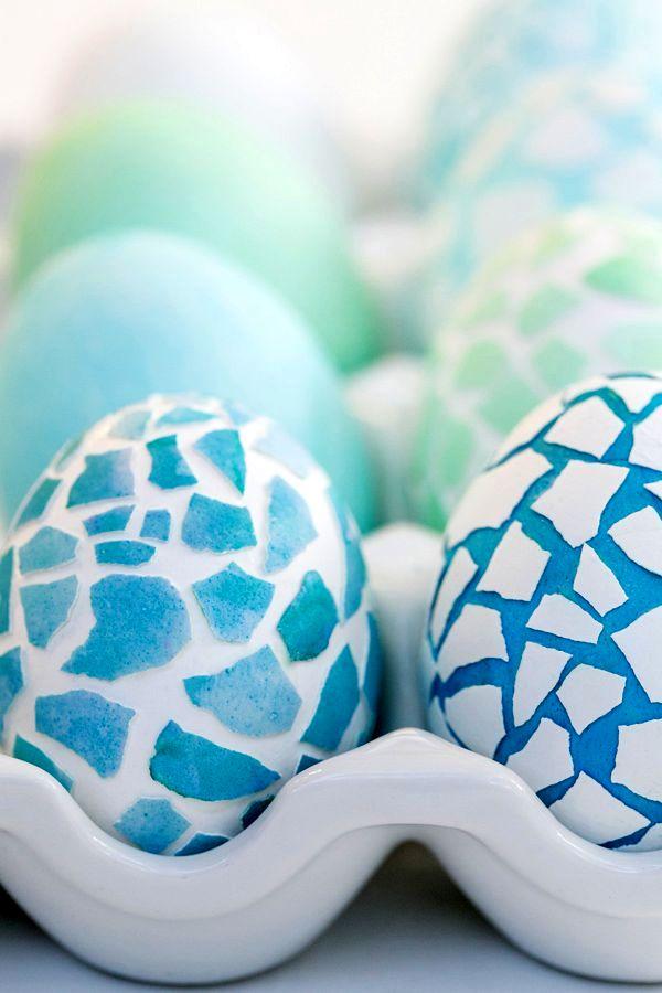 мастер класс пасхальное яйцо с мозаикой своими руками