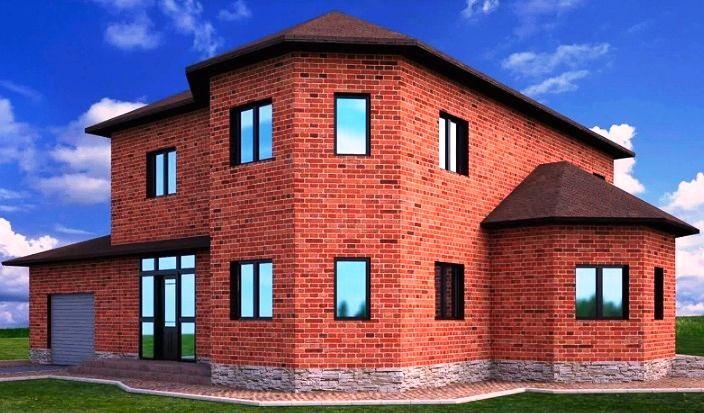 монтаж фасадного декора дома до декоративных работ