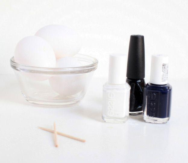 материалы для мраморных пасхальных яиц своими руками