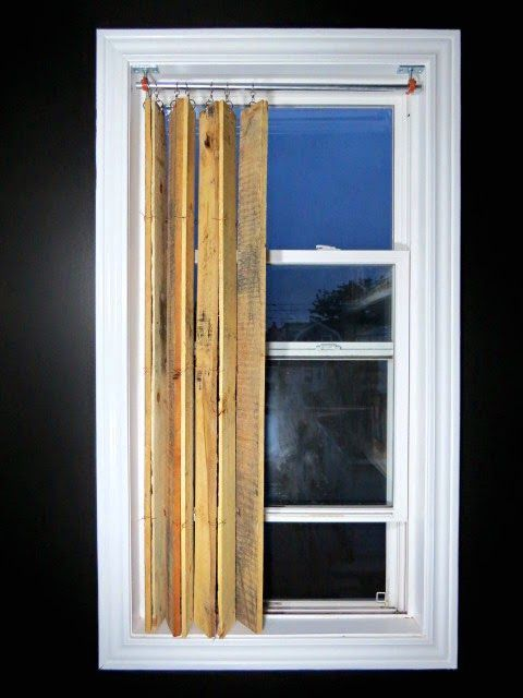 вертикальные жалюзи своими руками из деревянных поддонов