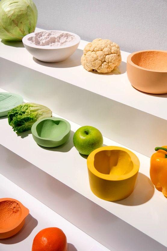 посуда в виде овощей