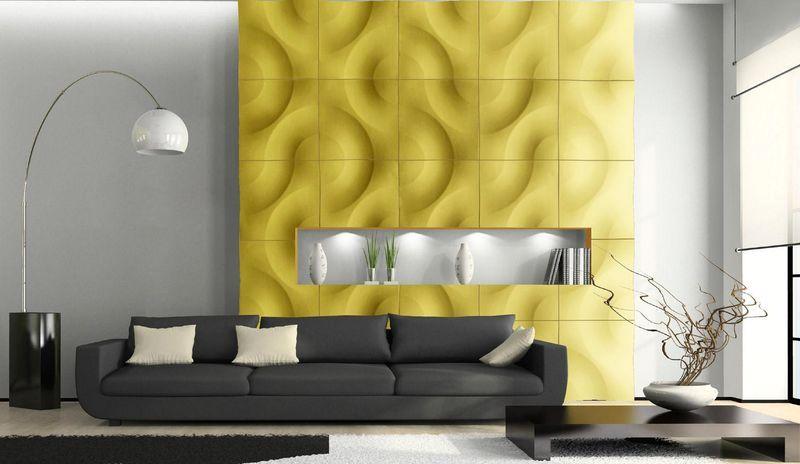 декоративные панели на стену с трехмерным эффектом