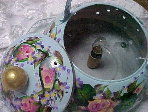 светильник из чайника своими руками