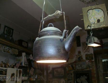 светильник чайник