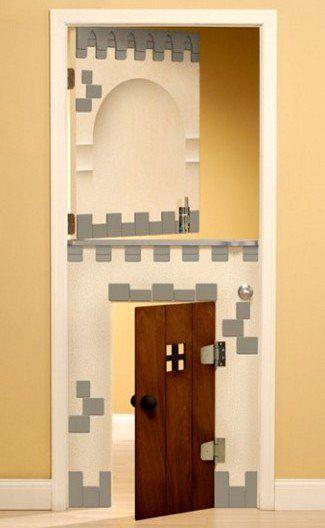 детские двери два в одном