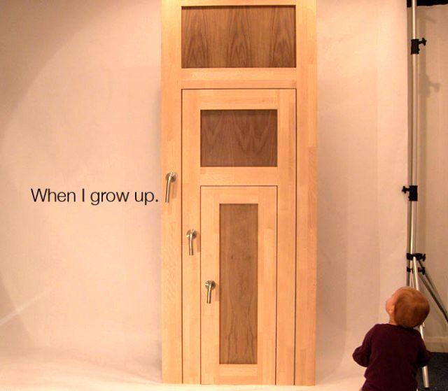 креативные двери для детей threeStyle