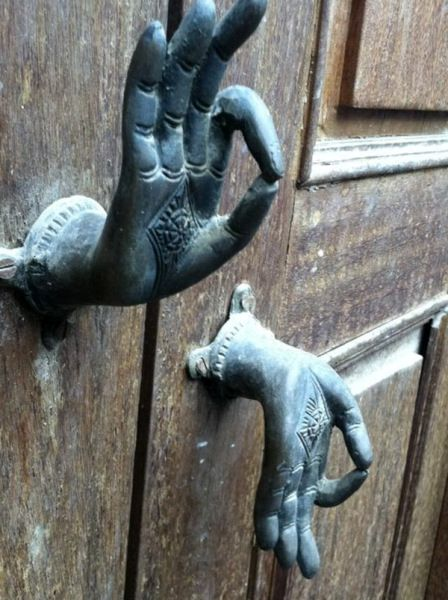 оригинальные дверные ручки OM