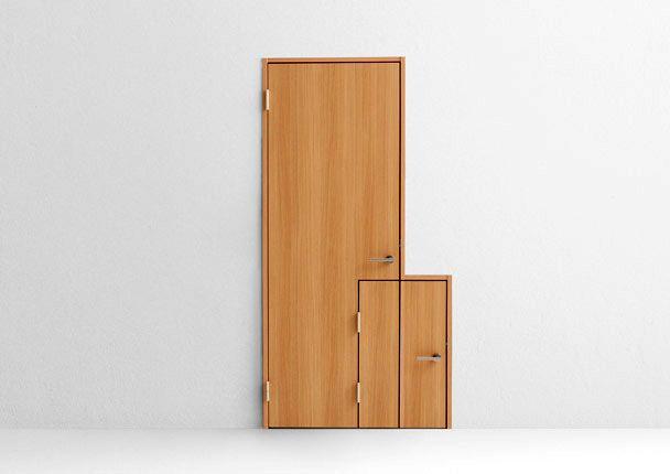 многофункциональные креативные двери Nendo baby