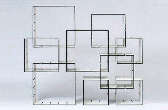 модульный сборный стеллаж Konnex