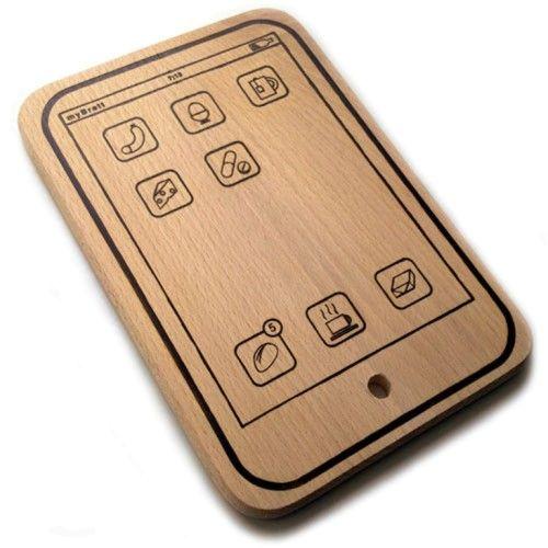 разделочная доска деревянная iBoard