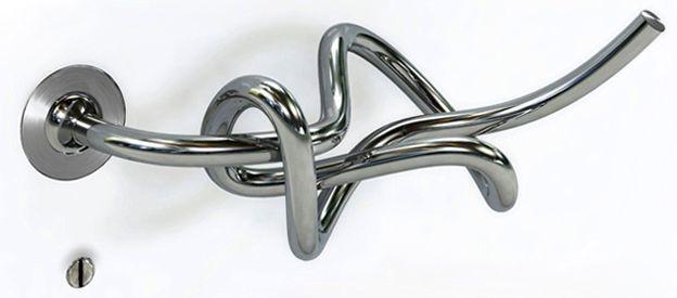 необычная дверная ручка Diego Amadei
