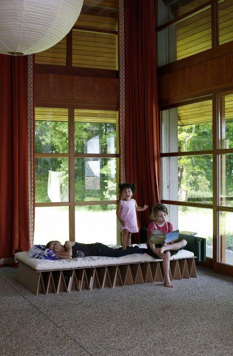кровать из картона Itbed для детей