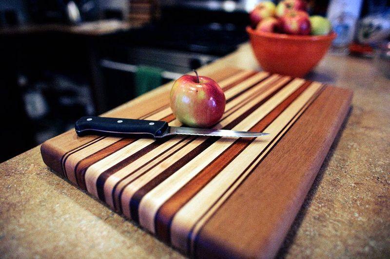 деревянная разделочная доска