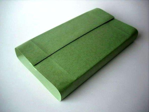мастер-класс подарочная упаковка с силуэтом елочки шаг 4