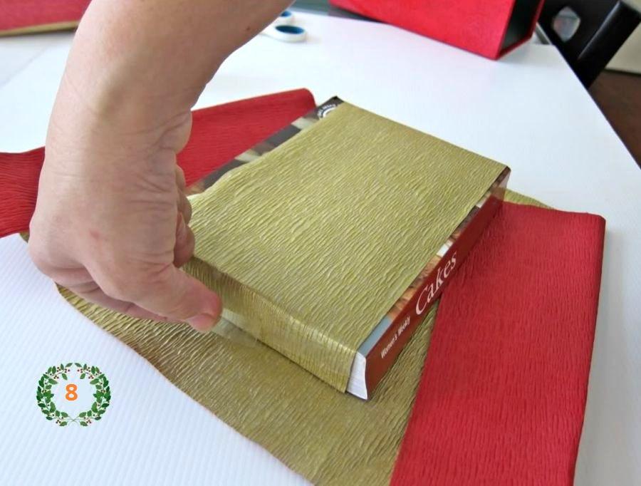 подарочная упаковка шаг 5
