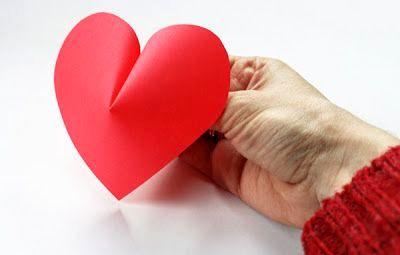 мастер-класс объемные сердечки из бумаги - внешний вид