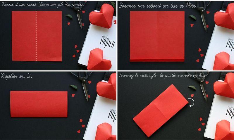 мастер-класс объемные сердечки оригами 02