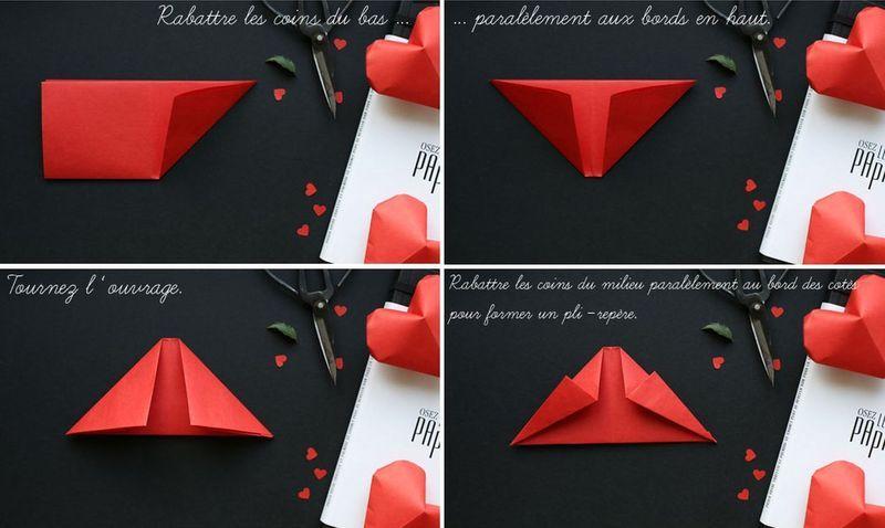 мастер-класс объемные сердечки оригами 03