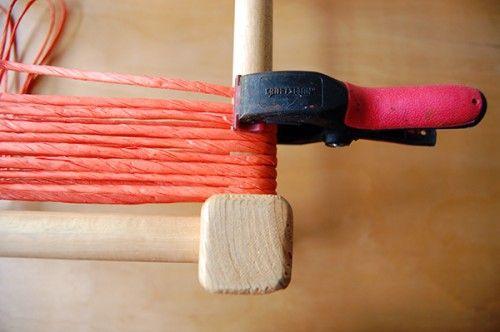 табурет с плетеным сиденьем своими руками 08