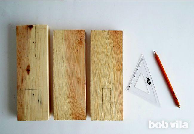 мастер-класс как сделать деревянный настольный органайзер своими руками