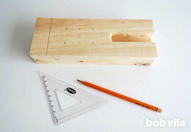как сделать деревянный настольный органайзер своими руками МК