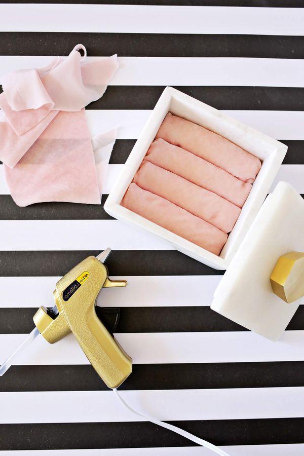 мастер-класс как сделать шкатулку для колец своими руками