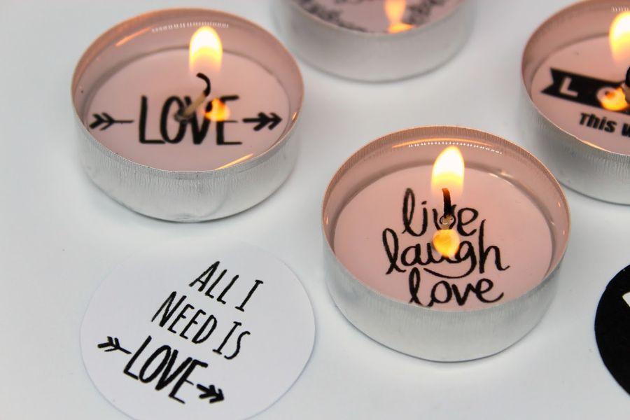 тайные послания в чайных свечах