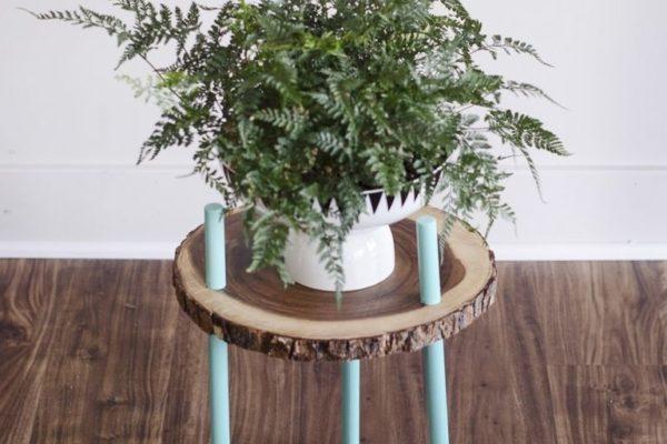 стол из среза дерева своими руками