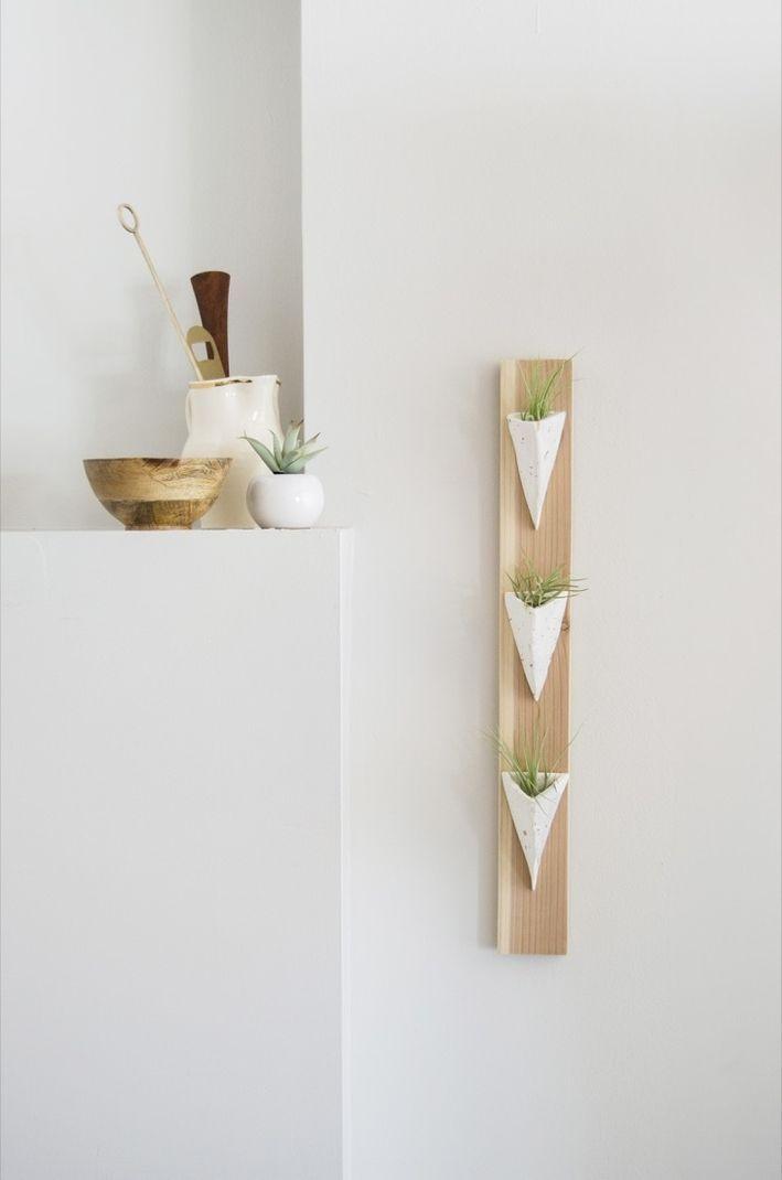 настенный держатель для комнатных растений своими руками