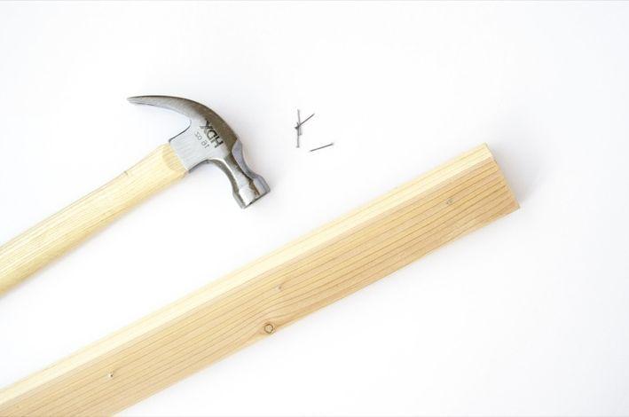 шаг 5 как сделать настенный держатель для комнатных растений