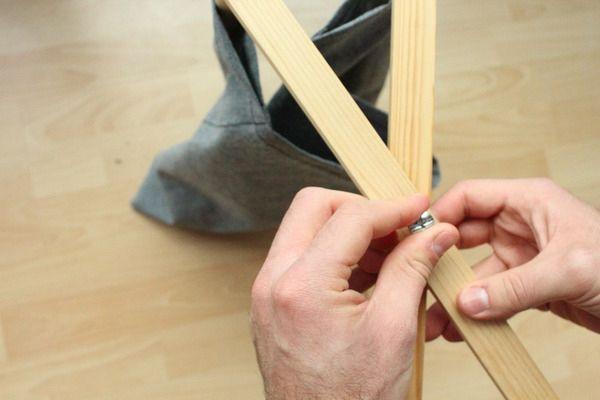 складная подставка для журналов своими руками