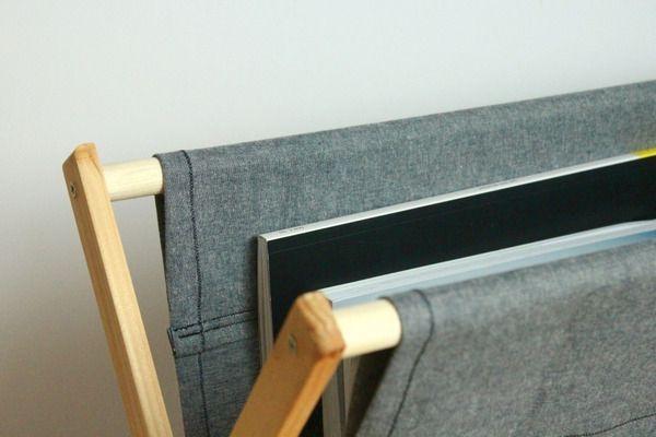 складная подставка - стойка для газет и журналов