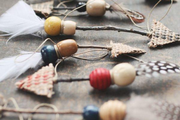 декоративные стрелы как украшение для новогодней рождественской елки