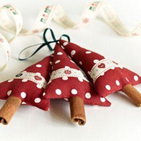 новогодние поделки елочки из палочек корицы