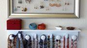 Хранение украшений своими руками: 50 идей-фотографий